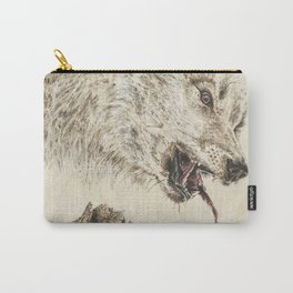 Hungry Wolf Carry-All Pouch
