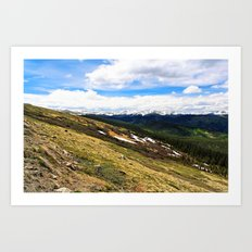 Slope Art Print
