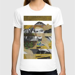 Klimt's The Kiss & Rita Hayworth with Glenn Ford T-shirt