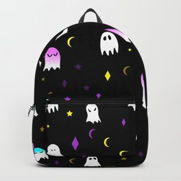colorful ghost Backpack