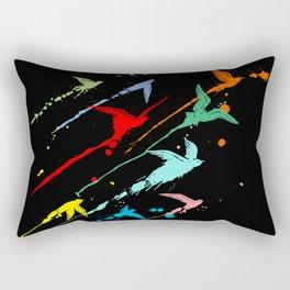 Flying colors Rectangular Pillow