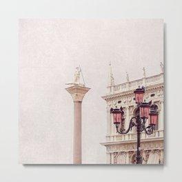 MAGICAL VENICE   Palazzo Bianco Metal Print
