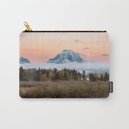 Autumn Sunrise in the Tetons Carry-All Pouch