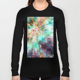 Colorful Tie Dye Long Sleeve T-shirt