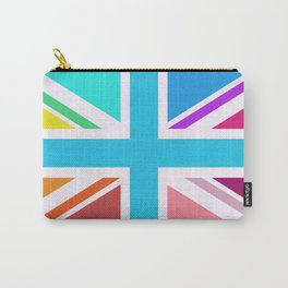 Union Jack/Flag Design Multicoloured Carry-All Pouch