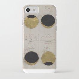 Gold Eclipse iPhone Case