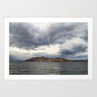 Island Prvic Art Print