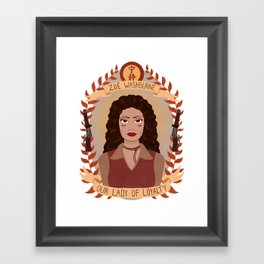 Zoë Washburne Framed Art Print