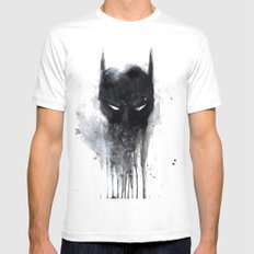 Bat Man fan art White Mens Fitted Tee X-LARGE