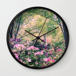 In the garden! Wall Clock
