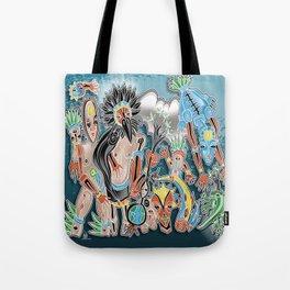 tribe dance Tote Bag