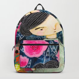 Quilted Princess Backpack