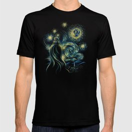 Death Starry Night T-shirt