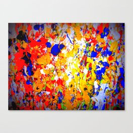 Go Big Canvas Print