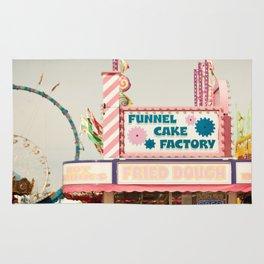 Carnival Funnel Cake Factory  Rug
