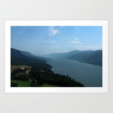 Oregon - USA. Art Print