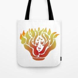 fire spirit (color) Tote Bag