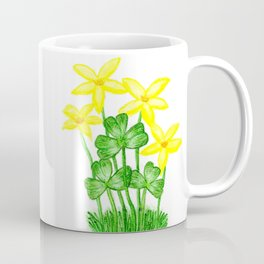 Shamrock Garden Coffee Mug