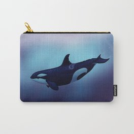 """""""Lost in Fantasy"""" by Amber Marine ~ Orca / Killer Whale Art, (Copyright 2015) Carry-All Pouch"""