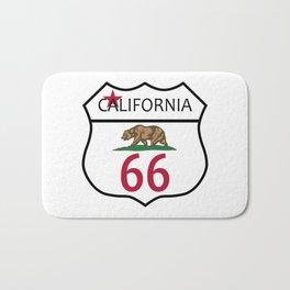 Route 66 California Bath Mat
