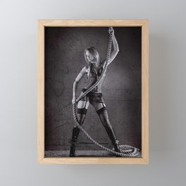 Lingerie and Rope Framed Mini Art Print
