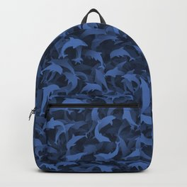Dolphins camouflage Backpack