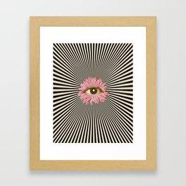 Solar Pupil II Framed Art Print