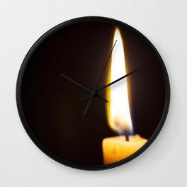 Burning Bright Wall Clock