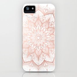 Imagination Rose Gold iPhone Case