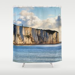 Cretaceous rocks of Dover Shower Curtain