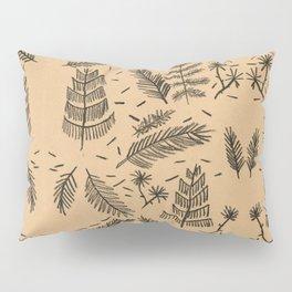 Kraft Paper Pine Pillow Sham
