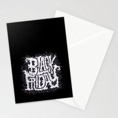 Black Friday Stationery Cards