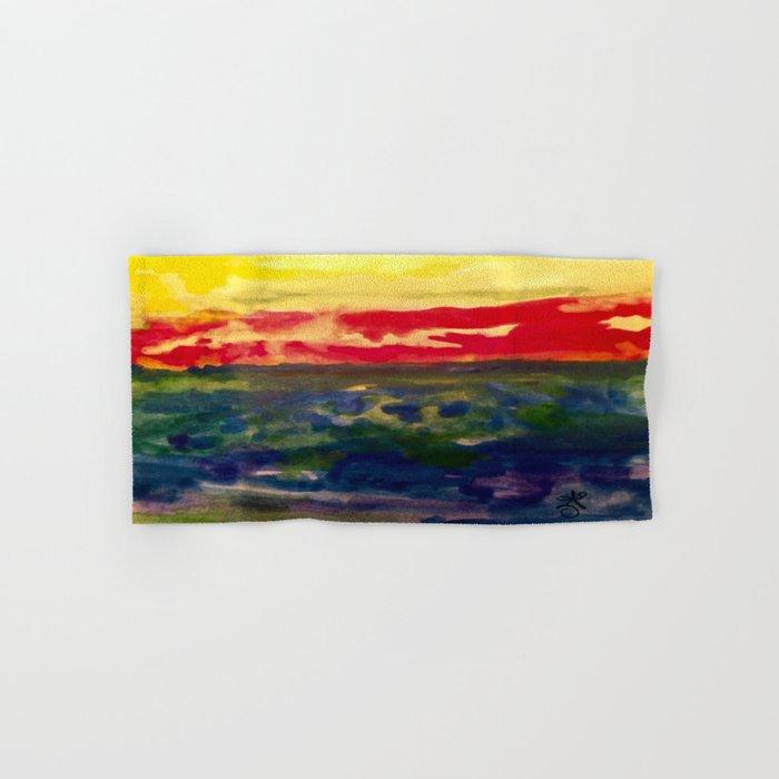 My Starry Sunset Hand & Bath Towel