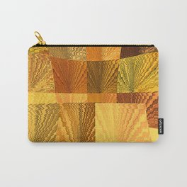 Abstract Digital Artwork Golden State Carry-All Pouch