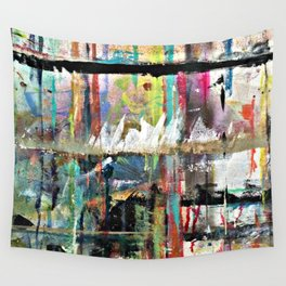 Colorful Bohemian Abstract 3 Wall Tapestry