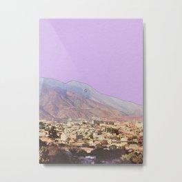 Lilac Skies Metal Print
