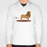lannister Hoodies featuring Hear Me Roar by Alexandra Sutherland