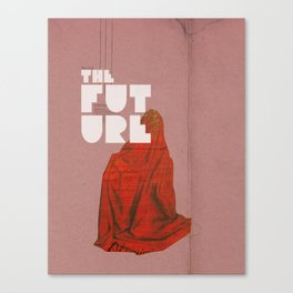 The future a time to reminisce. (mixed media) Canvas Print