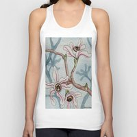 botanical Tank Tops featuring Botanical Visions by Bonnie Johnson