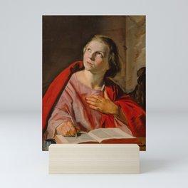 "Frans Hals ""Saint John the Evangelist"" Mini Art Print"