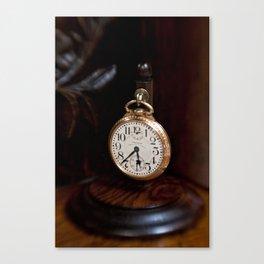 Waltham Pocket Watch #001 Canvas Print
