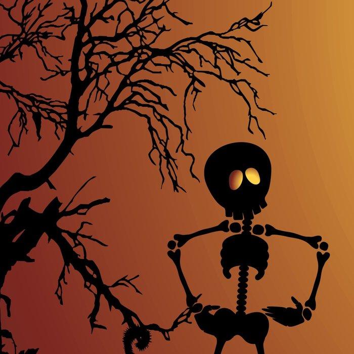 Skeletons Macabre Dance Leggings