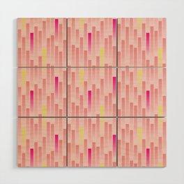 Future Stripes Wood Wall Art