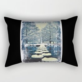 Stepping Stones Rectangular Pillow