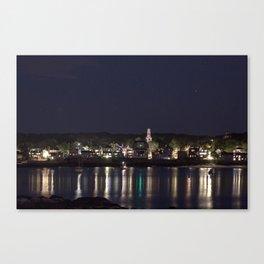 Shiney little town Canvas Print