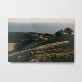 California Coast Sunset Metal Print