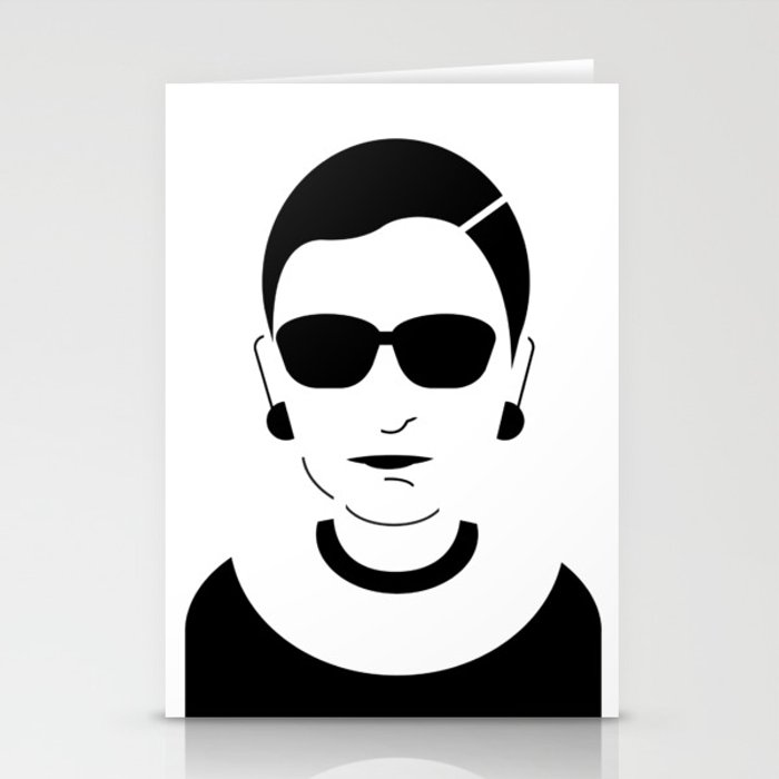 notorious rbg ruth bader ginsburg stationery cards by katiekatherine