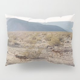 Panamint Valley Coyotes Pillow Sham