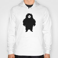 sasquatch Hoodies featuring Sasquatch by Ryan W. Bradley