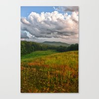catcher in the rye Canvas Prints featuring Catcher in the Rye View by Nathan Larson